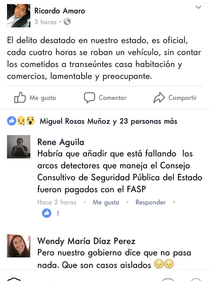 Aspirante de Morena a diputado local cuestiona Inseguridad en Tlaxcala