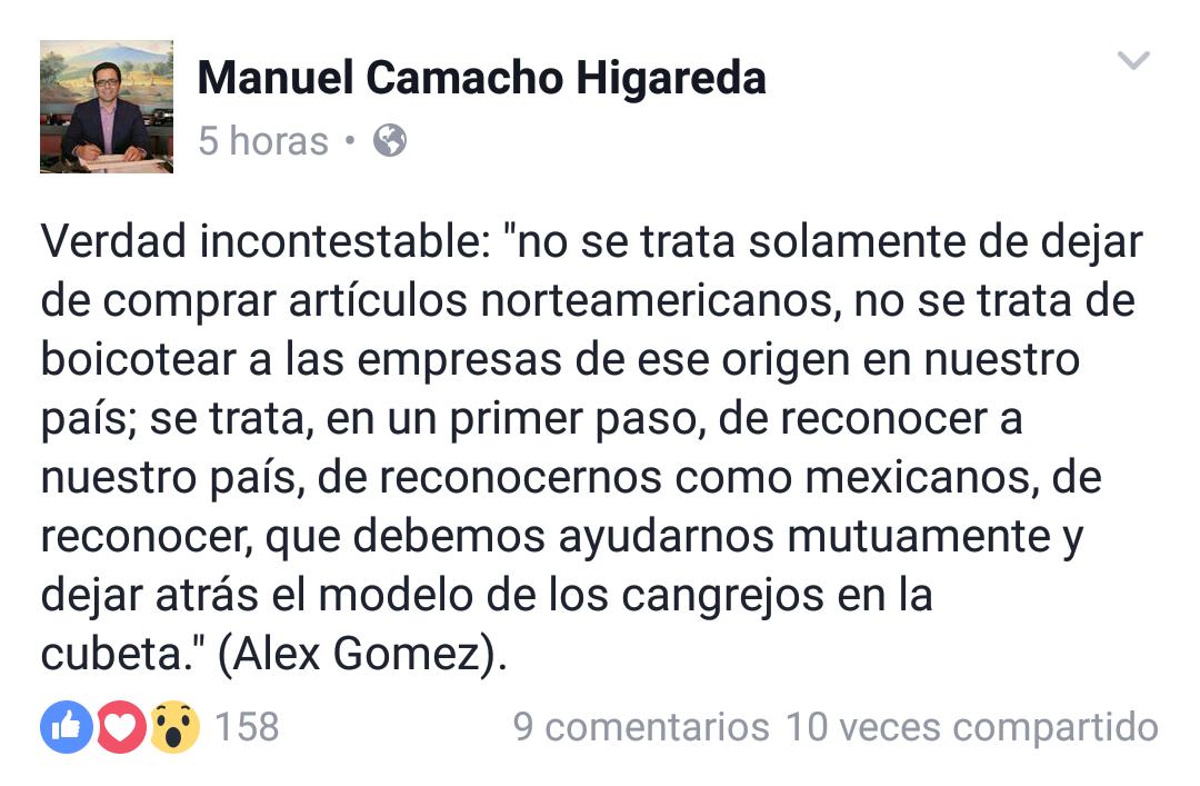 Secretario de Educación, Manuel Camacho no sabe geografía