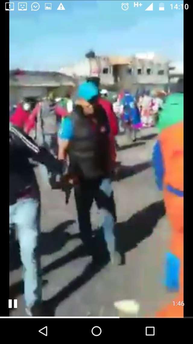 Se arma balacera en Tenancingo