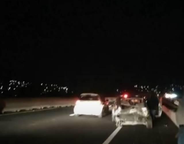 Dos lesionados deja accidente en el periférico de Tlaxcala