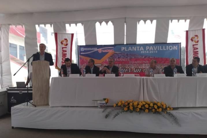Media década sin accidentes confirma a Planta Pavillon