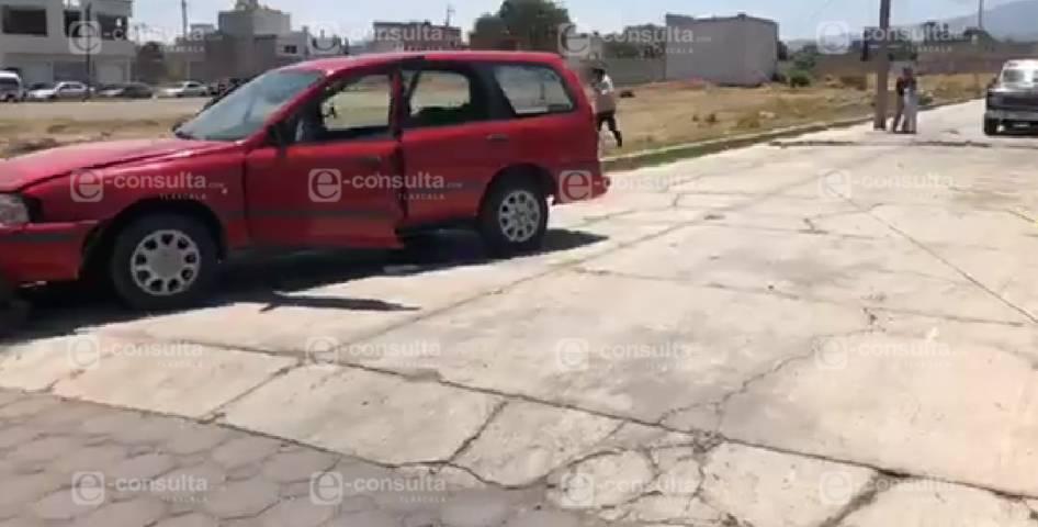 Balacean a dos personas en Chiautempan
