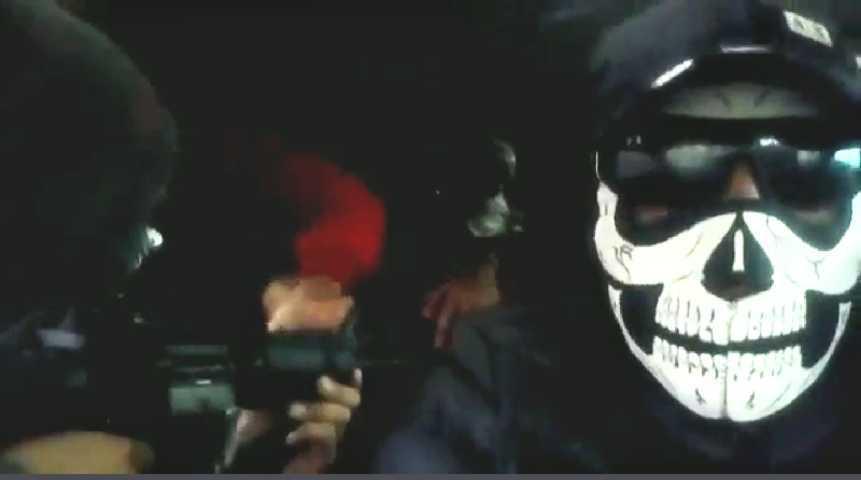 Grupo armado amenaza con una limpia en Xaloztoc