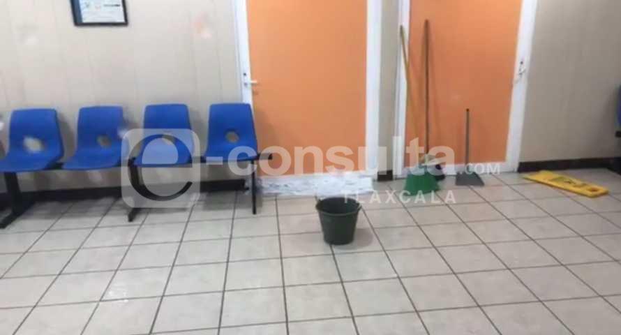 Colapsa Hospital General del Sur y es evacuado