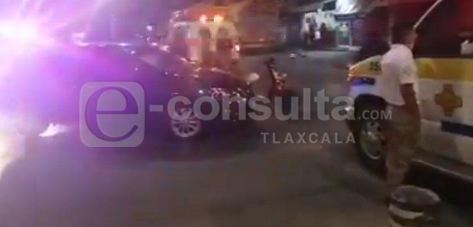 Atropellan a motociclista en Apizaco