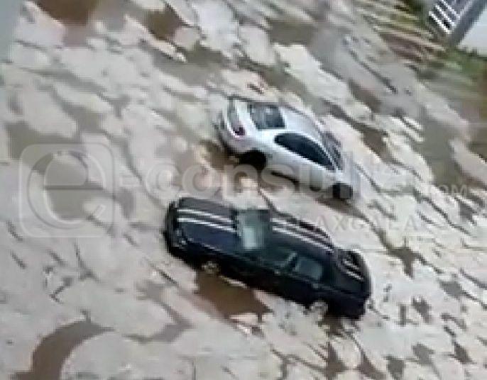 Menor de 15 años se la lleva la corriente provocada por fuertes lluvias
