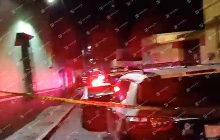 Asesinan a dos jóvenes en el centro de Huamantla