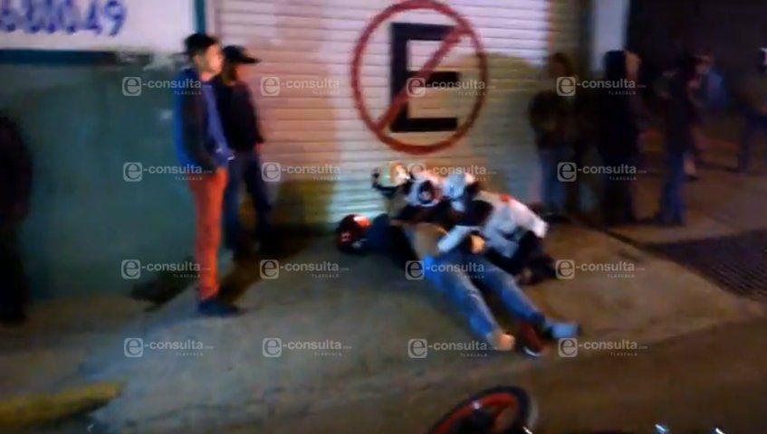 Atropellan a motociclista en Acuitlapilco