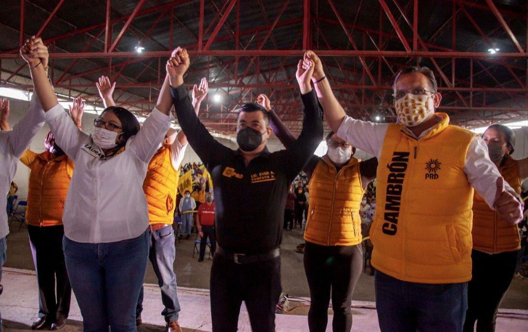 Comprometida con Benito Juárez, arranca Laura Flores campaña de