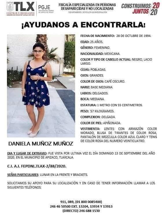 Proceso de búsqueda de Daniela N está lleno de irregularidades, denuncian
