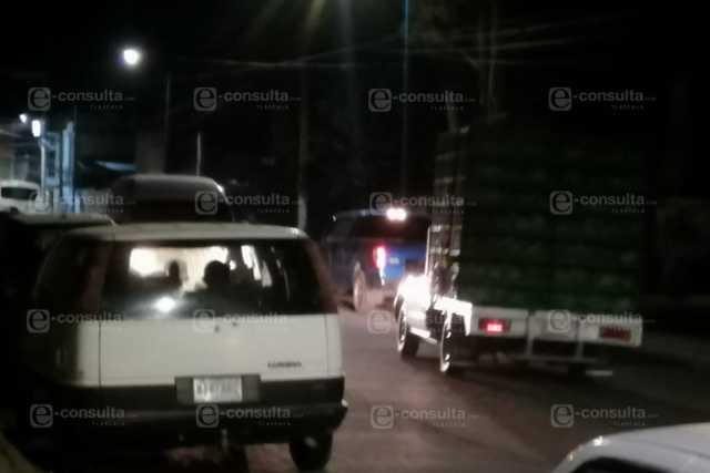 Fuga de gas obligó a desalojar a pobladores de San Pablo del Monte