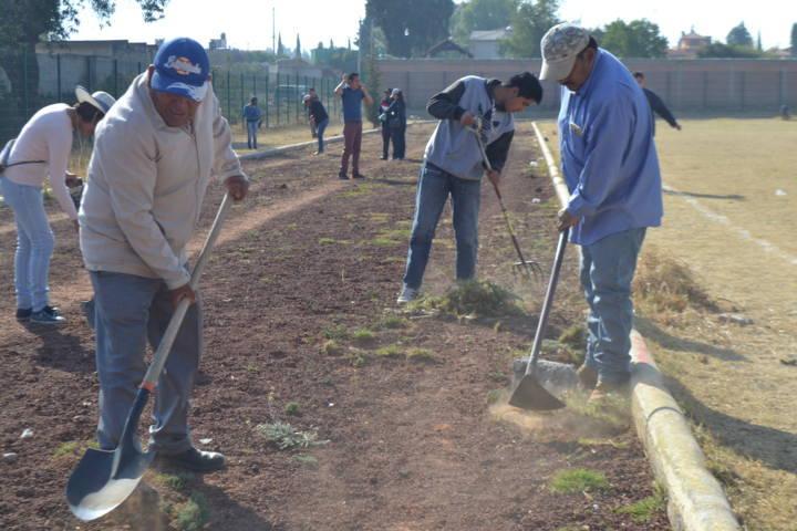 Alcalde fomenta el deporte y el cuidado del medio ambiente