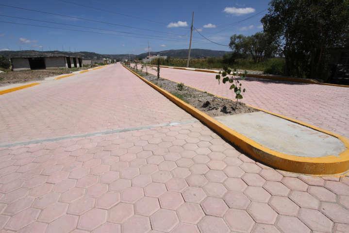 Concluye modernización del acceso principal a Nopalucan