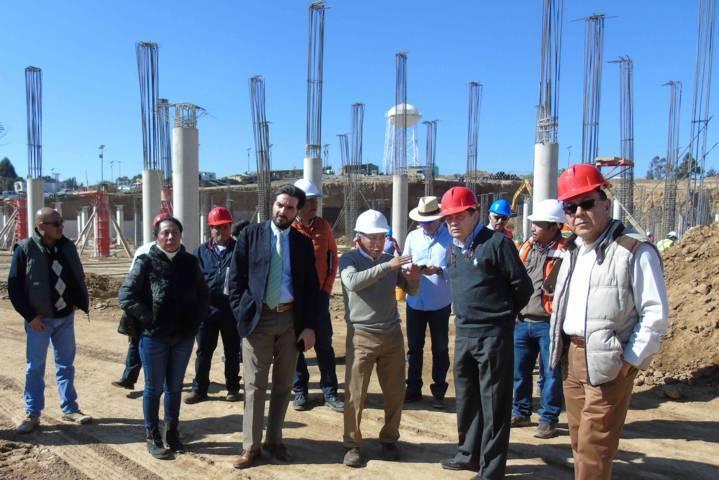 Supervisan Secoduvi y SESA trabajos del nuevo Hospital General de Tlaxcala