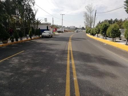 Secoduvi rehabilita carretera Toluca de Guadalupe-Terrenate