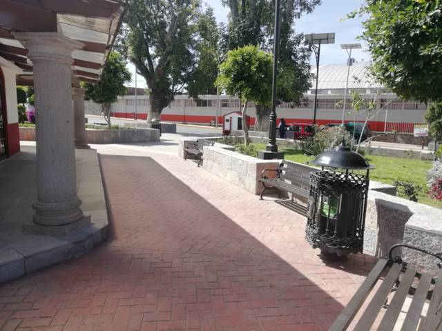 Realizó Secoduvi modernización de imagen urbana en Teolocholco