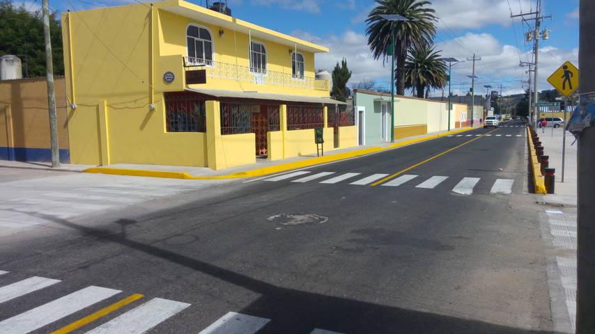 Concluye SECODUVI mejoramiento de imagen urbana de Nanacamilpa