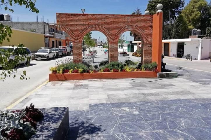 Concluye Secoduvi rehabilitación del centro de Tlaltelulco