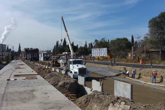 Registra 50 por ciento de avance puente de Ixtacuixtla