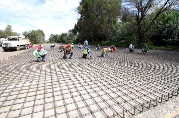 En construcción Planta De Tratamiento De Aguas Residuales Intermunicipal en Nativitas