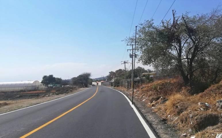 Culmina Secoduvi repavimentación del camino Atlamaxac-Teolocholco