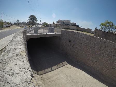 Termina Secoduvi construcción de puente vehicular en Ayometla