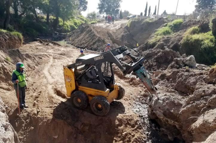 Inicia Secoduvi construcción de puente vehicular en la Trinidad Tenexyecac