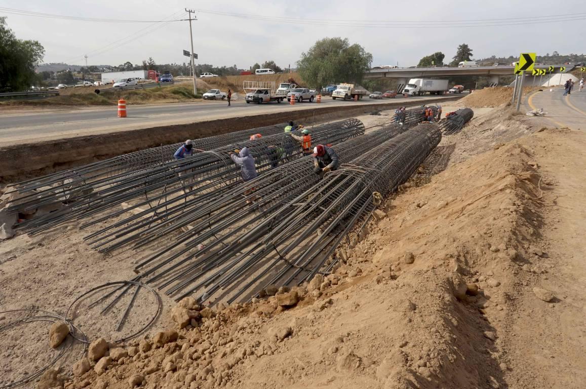 Registran 20 por ciento de avance trabajos de modernización de Carretera Tlaxcala-Apizaco