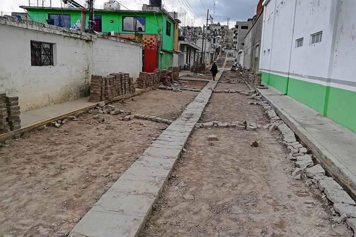 Fortalece Secoduvi infraestructura urbana en Emiliano Zapata