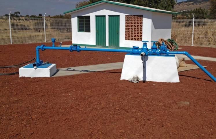 Culmina Secoduvi obras de agua potable en Terrante y Tlaxcala
