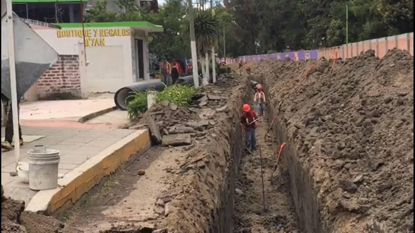 Colector sanitario de Panotla evitará inundaciones y descargas residuales al Río Zahuapan: SECODUVI