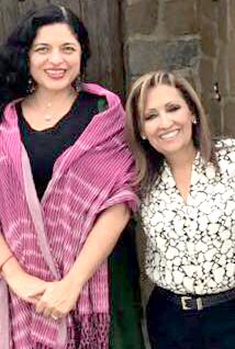 Futura secretaria de Cultura se reúne con Lorena en Tlaxcala