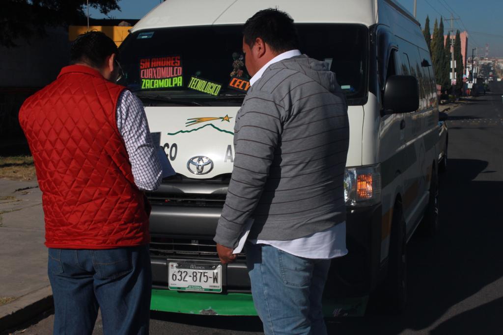 Supervisa Secte servicio de transporte público en el estado