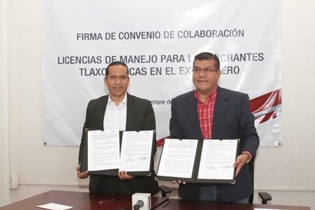 Secte tramitará licencias de manejo a migrantes tlaxcaltecas