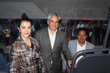 Inicia operaciones central de autobuses en San Pablo del Monte