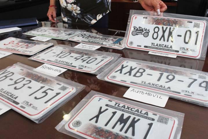Normaliza SECTE expedición de placas vehiculares