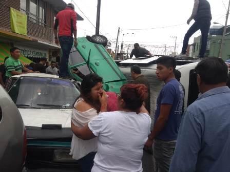 Van por la cancelación de concesión de unidad involucrada en accidente