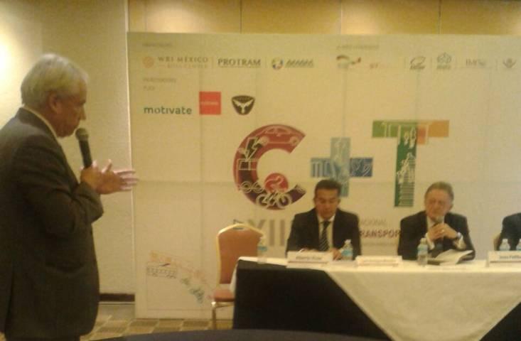 Participa SECTE en convención de movilidad sustentable en México