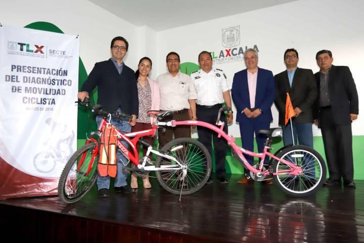 Presenta SECTE diagnóstico de movilidad ciclista