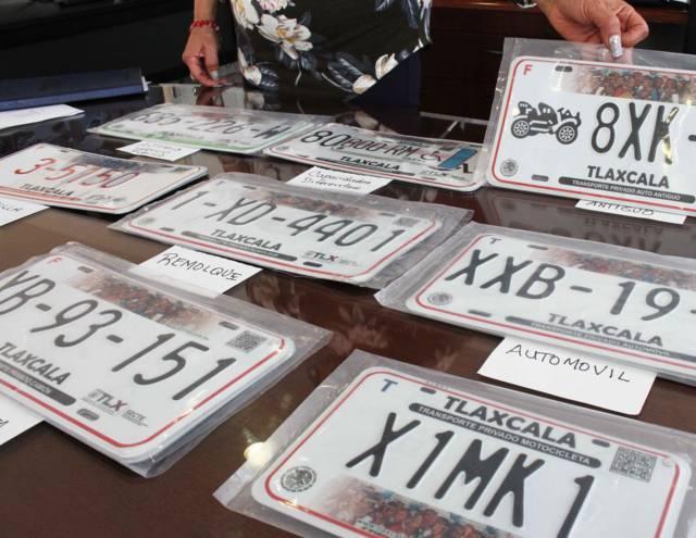 Contamos con abasto suficiente de placas: SECTE