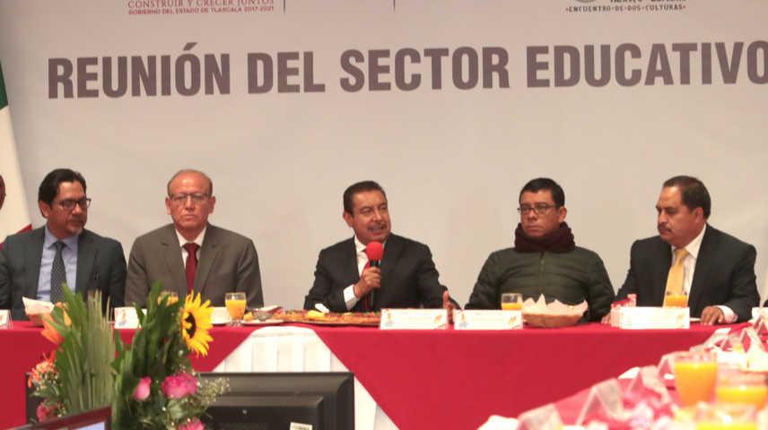 Hay que fortalecer la seguridad escolar: Florentino Domínguez