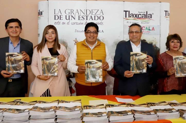 Presenta Secture guía turística del estado de Tlaxcala