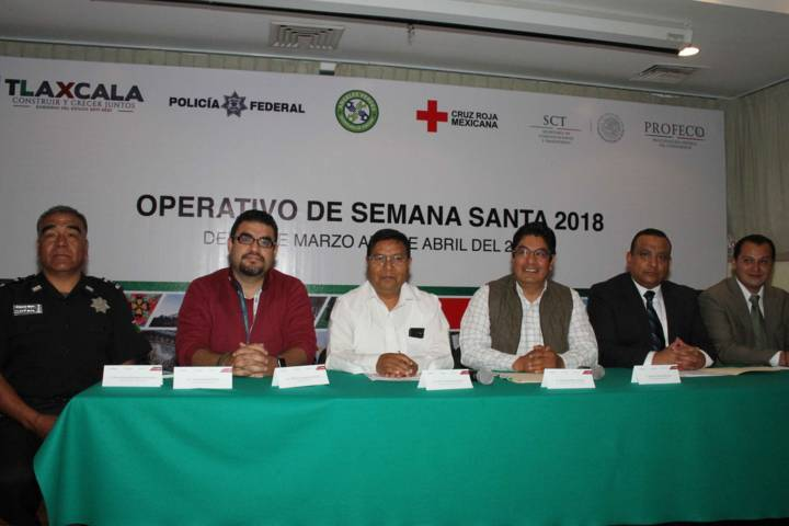 Presentan autoridades estatales operativo Semana Santa 2018