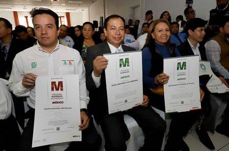 Tlaxcala mantiene primer lugar en certificaciones de calidad turística