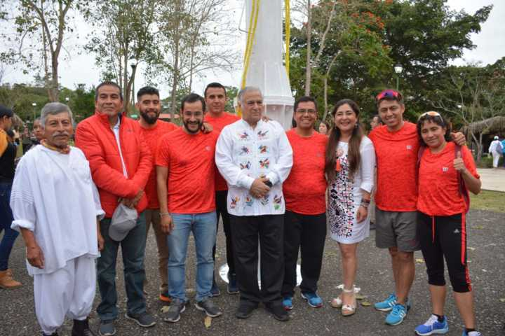 Asiste Secture a inicio de carrera  Ruta Del Pescado De Moctezuma