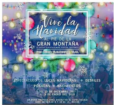 Invitan al Festival Vive La Navidad al Pie de la Gran Montaña