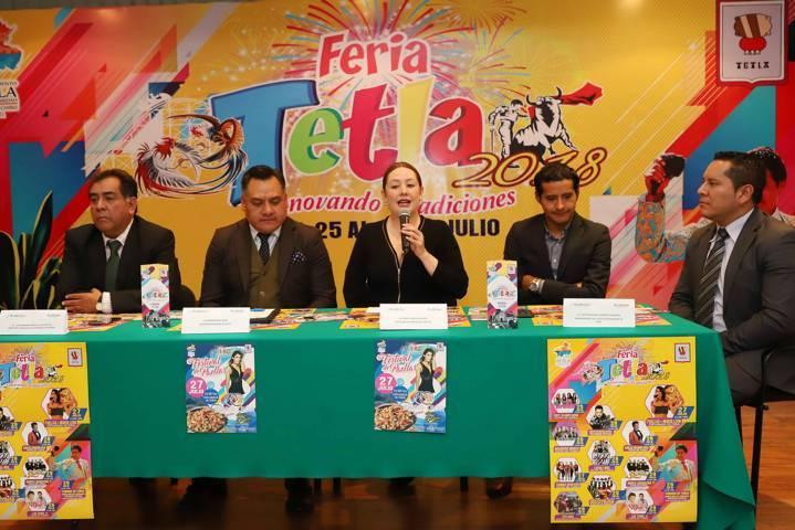 Invita Secture a actividades de la Feria Tetla 2018