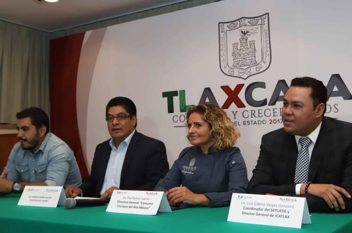 """Tlaxcala sede de la Tercera Semifinal Del Concurso """"Cocinero Del Año México"""""""