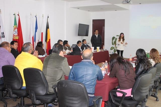 Vincula Sedeco a emprendedores de Tlaxcala con el Inadem