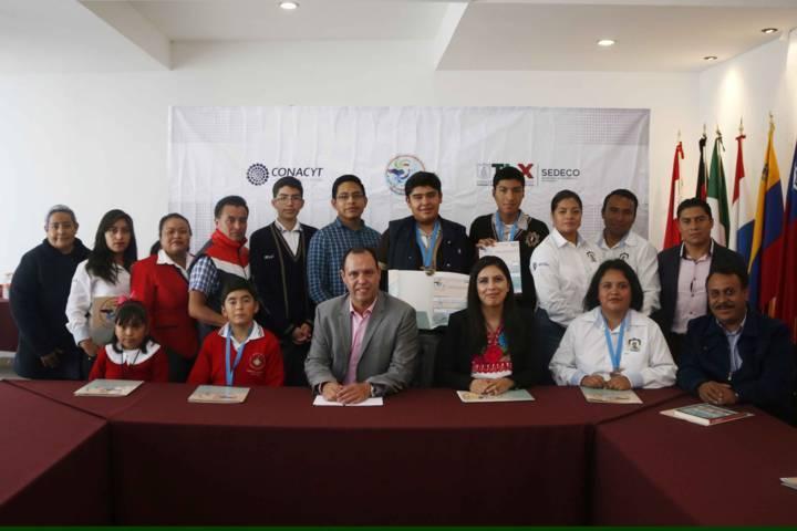 Recibe Gobierno del Estado a participantes de la Expo Ciencias Nacional 2017